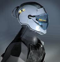 ninja robot bust by przemek-duda