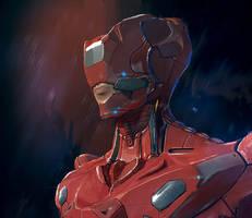 red armour dude by przemek-duda