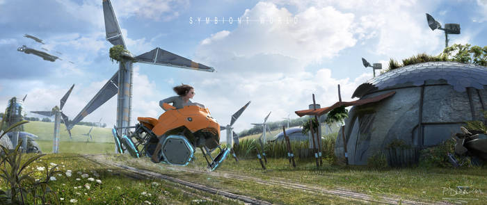 The Symbiont World-Key Visual by przemek-duda