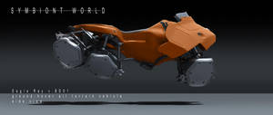 symbiont world - eagle ray hover bike 1 by przemek-duda