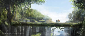 Symbiont-world--tree-bridge by przemek-duda