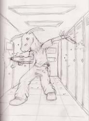 Walk Into the Darkness sketch by JTHMFrAeK
