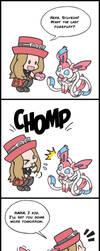 Pokemon: Psychotic Sylveon - PokePuffs by LuLuLunaBuna