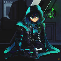COMMISSION: Hunter Chrysalis by Ruhisu