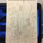 RIP Stan Lee by NightPapilio