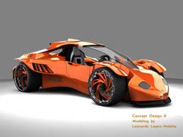 Mantiz Concept Car by lambo
