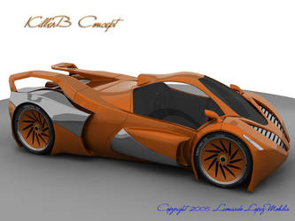KillerB Concept Car by lambo