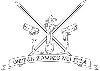 United Zombie Militia Logo by Raziel1000