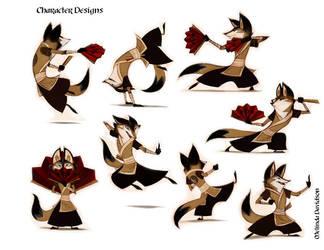 Kung-fu Fox by trinity88