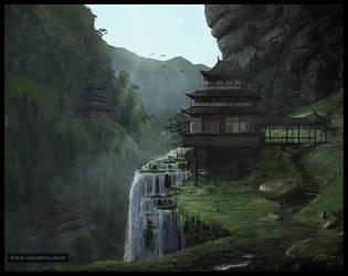 Monastery by logartis