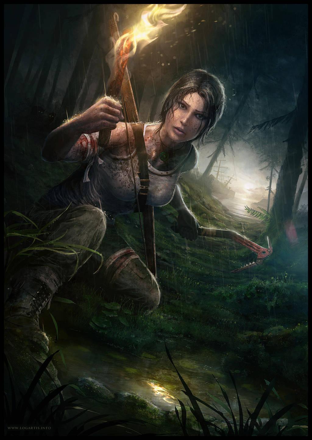 Tomb Raider Reborn by logartis by logartis