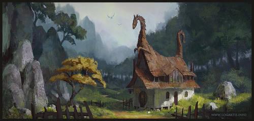 Dragon Valley Inn by logartis