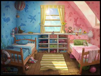 Children's room #1 by logartis