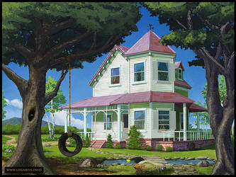 Children's room #3 - The House by logartis