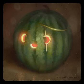 Halloween fruits #1 by logartis