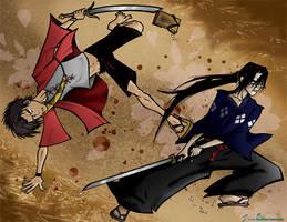 Samurai Champloo by geeksnextdoor