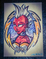 Sketch Card - Storm by geeksnextdoor