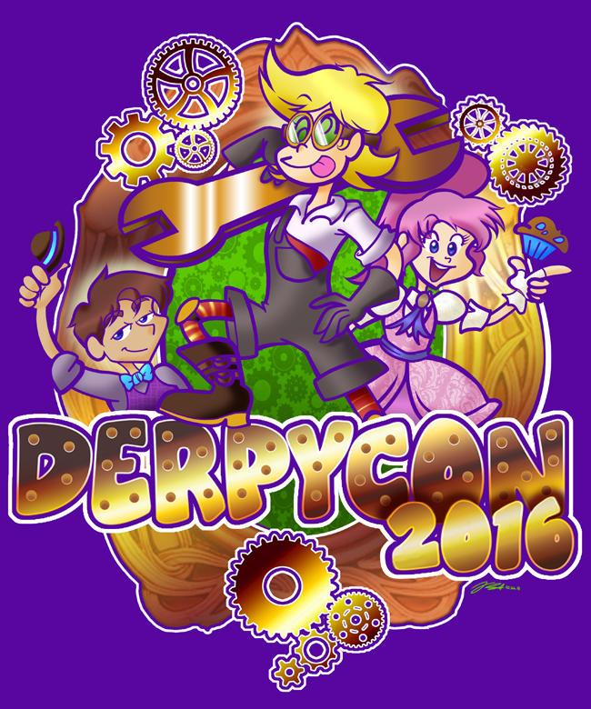DerpyCon 2016 Shirt Design by geeksnextdoor