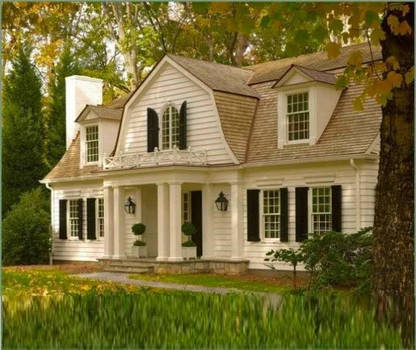 Luxury Colonial Style Homes Colonial Houses Exteri By Gamilaalex20