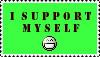 I Support Myself by MatthewsStamps