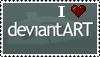 I Love deviantART by MatthewsStamps