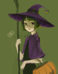 little witch by sarayoot