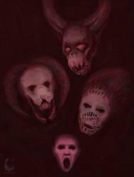 My demons by VeraVeraART