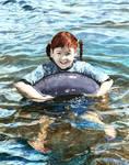 Water Violet by dwaynerjames