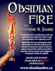 Obsidian Fire Promotional Graphic by dwaynerjames