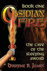 ObsidianFireCover book1 by dwaynerjames