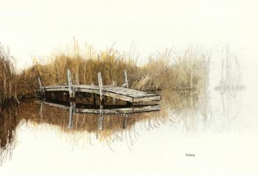 Dockside Reflections by dwaynerjames
