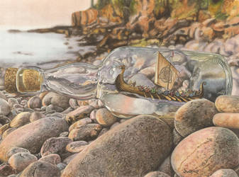 Viking Spirits by dwaynerjames