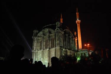 Ortakoy mosque by voiceofthemysteron