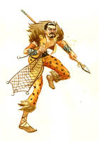 Kraven, the Hunter by JoriB
