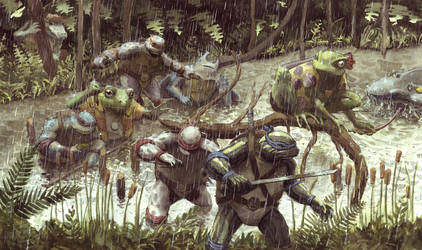 Through the Swamp by JoriB