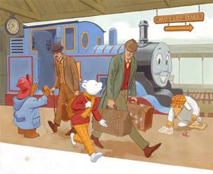 Rupert and Friends by JoriB