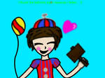 Caitlyn:BB/balloon boy by ReenaeTickleman