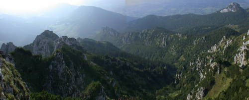 Panorama from top by Ratshaman