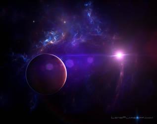 spaceNebula by jamesgrote