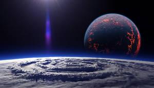 Planetary Vortex by jamesgrote