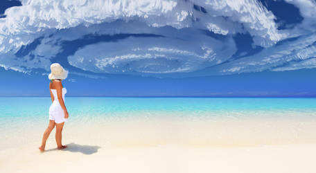 Nice Day at the Beach by jamesgrote