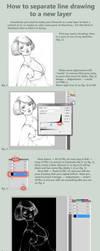 Lines to layer tutorial by DmitryGrebenkov