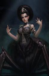 Black widow by DmitryGrebenkov