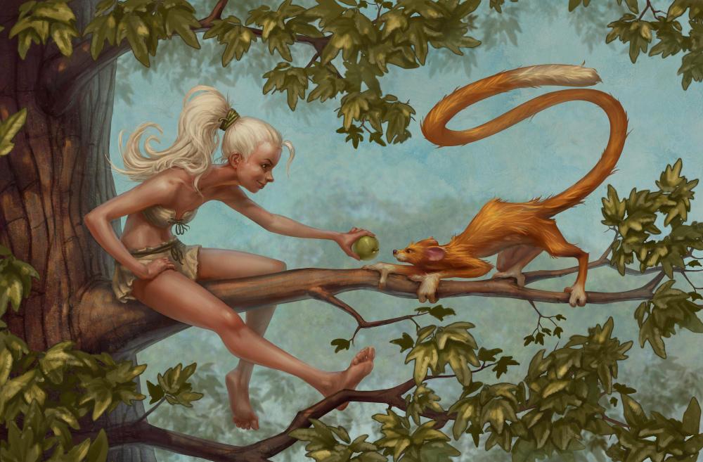 Tails by DmitryGrebenkov