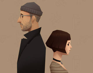 Leon and Mathilda by DmitryGrebenkov