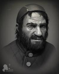 Beggar by DmitryGrebenkov