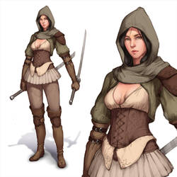 Assassin concept by DmitryGrebenkov