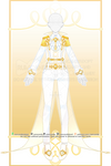 Gold Celtic Wedding Prince Outfit R415 (OPEN) by RumCandyAdopt