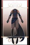 Saddleback DragonRider Outfit R414 (sold) by RumCandyAdopt