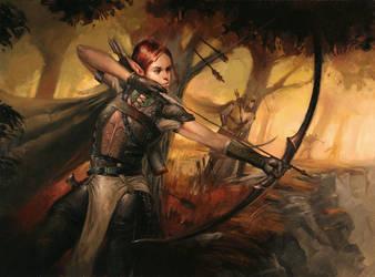 Ambush From The Treeline by LucasGraciano